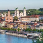 Panorama von Passau in Niederbayern